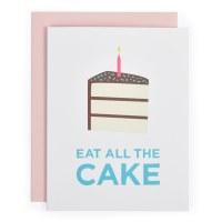 Graphic Anthology Eat Cake - Neutral