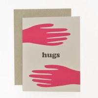 Graphic Anthology Hugs - Neutral