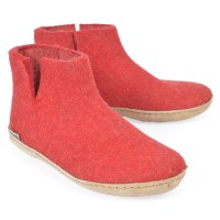 Glerups Low Boot - Red