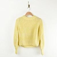Greylin Gracey Pouf Sleeve - Yellow