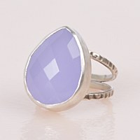 J & I BC2R Ring - Chalcedony