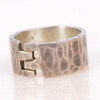 J & I Jewelry  MCX4R Ring - Silver