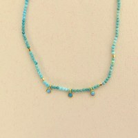 By Johanne India Gate 3 Pend - Turquoise