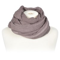 Joy Susan Embroidered Scarf - Wisteria