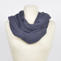 Joy Susan Solid Frayed Edge - Navy
