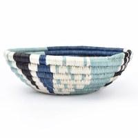 Kazi Biko Basket - Silver Blue
