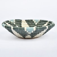 Kazi Small Hope Basket - Gray/Green