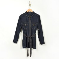 Liverpool Belted Long Jacket - Virginia
