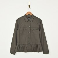 Liverpool Cargo Jacket  - Dark Emerald