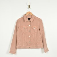 Liverpool Classic Jean Jacket - Dusty Coral