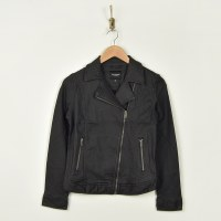 Liverpool Clean Moto Jacket - Black