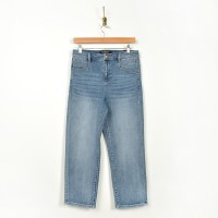 Hi-Rise Slant Pocket Crop /LIV