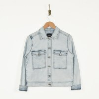 Liverpool Jacket W/ Pockets - Heron