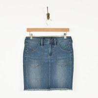Patch Pocket Skirt/ LIV