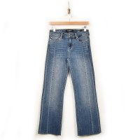 Liverpool Seamed Crop Flare - Jersey