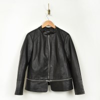 Liverpool Zip Off Moto Jacket - Black