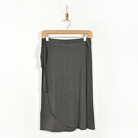 Look By M Heather Jersey - Charcoal