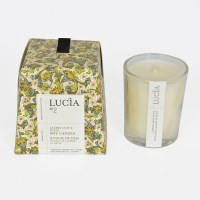 Lucia Votive Candle - Olive