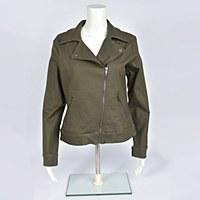 Liverpool Moto Jacket - Olive