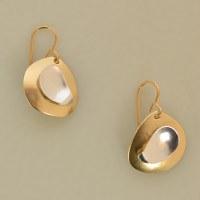 Marjorie Baer E9605 - Brass/Silver