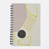 Moglea Painted Notebook - Purple Rain 1