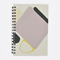 Moglea Painted Notebook - Purple Rain 3