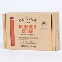 Olivina ML512 Soap Bar - Bourbon Cedar