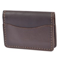 Orox Leather Arida Card Case - Brown