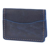 Orox Leather Arida Card Case - Sapphire