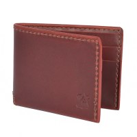 Orox Leather Classic Bifold - Ruby