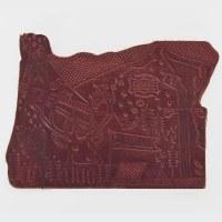 Orox Leather Co Coaster - Mahogany