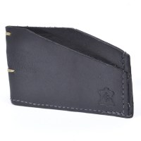 Orox Leather Slim Cardholder - Black