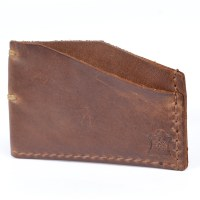 Orox Leather Slim Cardholder - Natural