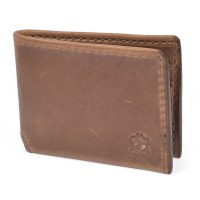 Orox Leather Co Travel Bifold - Natural