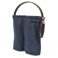 Orox Leather Co. Wine Caddy  - Indigo