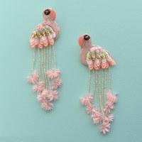 Flamingo Earring /OVD