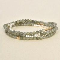 Scout SW016 - Labradorite/Silver & Gold