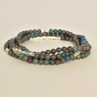 Scout SW028 - Blue Jasper/Gold & Silver