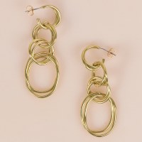 SOKO Lrg Nia Earrings - Brass