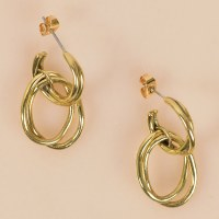 SOKO Nia Earrings - Brass