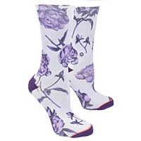 Stance Rebel Rose Crew - Purple