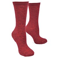 Smartwool Poinsetta Graphic  - Tibetan Red