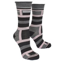 Smartwool Pressure Free Stripe - Medium Grey