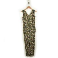Toad & Co Sunkissed Jumpsuit - Black Botanic