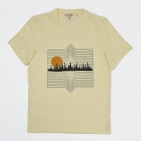 Toad & CO Forest Line SS Tee - Salt