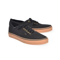 Vans Men's Authentic Gum  - Blk/Rubber