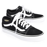 Vans Women's Old Skool W  - Black/White