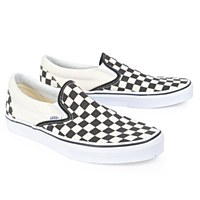 Vans Slip On Checker - Black/White