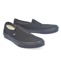 Vans Slip On Mens Canvas - Black/Black