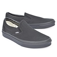 Vans Classic Slip On W Canvas - Black/Black
